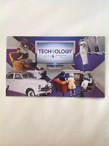 2012 - Australia - TECHNOLOGY THEN & NOW  STAMP PACK