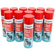 12 Dosen 500ml Würth Bremsenreiniger Teilereiniger Brake Cleaner 08901087