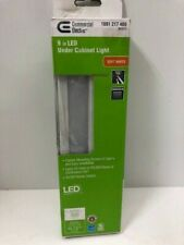 Commercial Electric 9 in. Under Cabinet Light - White - Direct Wire - LED