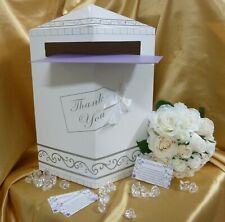 WISHING WELL BOX CARDS wedding engagement baby bridal shower cardboard wishes