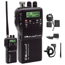 Cb Radio Handheld 40 Channel Transceiver Emergency Portable Weather 2 Way Mobile