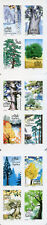 France 2018 MNH Trees 12v S/A Booklet Arbres Nature Stamps