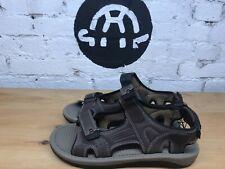 Khombu Mens Comfort Sandals - Brown ~ Tan (Select Size: 8-13)