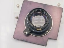 """Astragon 180mm F4.5 Commercial Large Format Camera Barrel Lens & Cut 4.5"""" Board"""