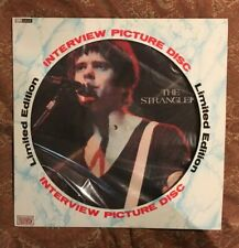 THE STRANGLERS - Interview Picture Disc LP vinyl EX/NM