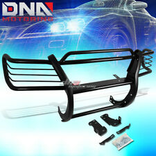FOR 95-01 EXPLORER/MOUNTAINEER CHROME STAINLESS STEEL FRONT GRILL GUARD FLAME