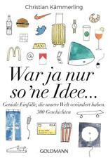 EV*16.7.2018 Christian Kämmerling: War ja nur so 'ne Idee ... - Geistesblitze mi
