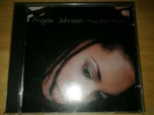 ANGELA JOHNSON. -   THEY DON'T KNOW .  -  RARE INDIE R&B  CD