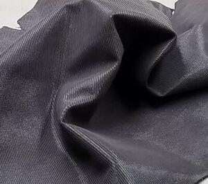 Brown Line Print Sheep Skin Leather Hide 3.5sf Crafts Handbag Upholstery Lining