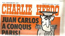 Charlie-Hebdo N° 311 ,1976,Juan Carlos a conquis Paris. 20 pages.