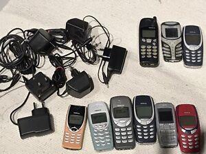 9 GSM NOKIA 6 Fonctionnels, 3 Pour Pièces