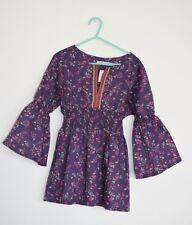 Designer Amaia kids Girls boho liberty print floral ditsy tunic top age 10 years