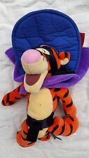 Authentic DISNEY Collectible Tigger Plush Toy 'Musketeer' Theme NEW WITHOUT TAGS