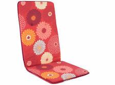 Coussins de jardin et terrasse rouges, pour chaise de jardin