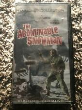 The Abominable Snowman - Hammer Collection -  VHS horror vintage clamshell