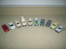 Wiking H0 Konvolut 10 Mercedes Benz Modelle