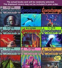 TEN-PACK BUNDLE/LOT OF GOOSEBUMPS BOOKS ~ R.L. STINE