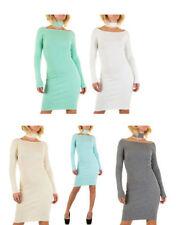 Normalgröße Damenkleider aus Viskose für Business-Anlässe