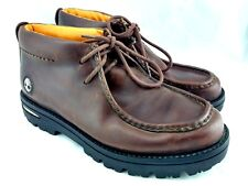 Timberland Chukka Wallaby Ankle Boots 62059 Mens size 11M Brown 2 eyelet 103-1