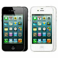 Apple iPhone 4 8GB 16GB 32GB Unlocked Black White Smartphone - 12M Warranty
