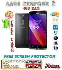 "5.5"" asus zenfone 2 ze551ml z2 android dualsim 4gb ram 32gb entsperrt handy uk"