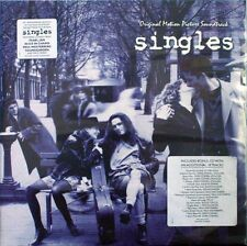 SINGLES - 2 x LP Vinyl Soundtrack - Pearl Jam Soundgarden Alice in Chains Grunge
