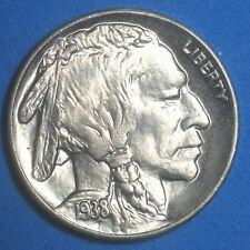 1938-D/D Buffalo Nickel