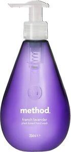 Method French Lavender Biodegradable Hand Gel Wash, 354ml