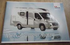 Adria Range Motorhome Brochure - 2008 Reisemobil Wohnwagen Camping Car