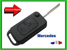 Coque Télécommande Plip Clé 2 Boutons Mercedes Classe A C E S sprinter + LAME