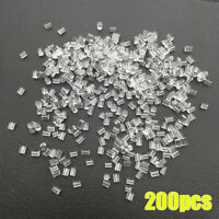200PCS  Heavy Duty Rubber Earring Backs Sleeves Holders Stopper Round Silicone