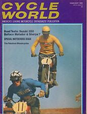 Cycle World Magazine February 1969 Suzuki 350 080217nonjhe