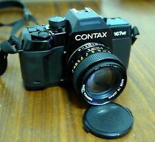 Contax 167mt SLR Spiegelreflexkamera Standardobjektiv 50mm Filmkamera Yashica T