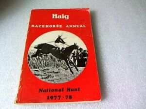 Haig Racehorse Annual National Hunt Edition 1977-78 (paperback)
