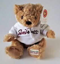 "ARIZONA STATE SUNDEVILS STUFFED PLUSH TEDDY BEAR W/ HOODY 10"" HERRINGTON"
