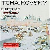 Tchaikovsky:Suites 1, 2, Ussr So, Svetlanov, Very Good