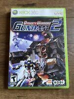 Dynasty Warriors: Gundam 2 Game Complete! XBOX 360 TESTED CIB