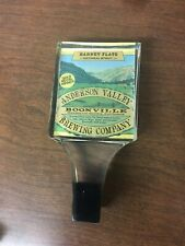 Barney Flats Oatmeal Stout Anderson Valley Brewing Co. Beer Tap Handle Nice!!!