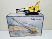 P&H 670 WLC Dragline Crane - NZG 1:50 Scale Model #525 Diecast New!