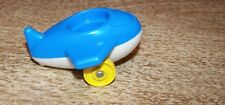 Vintage 1970's Fisher Price Toys #656 Little People Baby Nursery Airplane 1 Seat