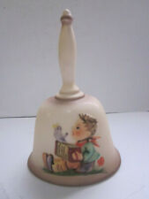 """Vintage Hummel 1978 First Edition Annual Hum700 Porcelain Bell 6-3/8"""" Tall"""