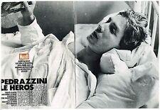Coupure de presse Clipping 1990 (8 pages) Jean Pierre Pedrazzini le Héros