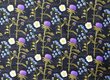 Patchwork Quilting Sewing Fabric OUTLANDER THISTLE Material 50x55cm New