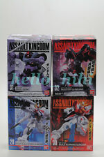BANDAI candy toy Gundam Assault Kingdom Vol.8 full set 4 boxes