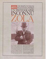 COUPURE DE PRESSE CLIPPING 1967 EMILE ZOLA Photographe inconnu  (15 pages)