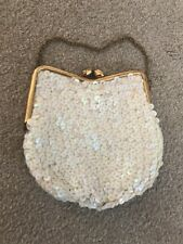 Vintage iridescent Sequined Bag