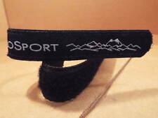 New Black CicloSport Adjustable Wrist/Watch Band (39 cm Long x 20/24 mm Wide)