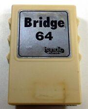 Commodore 64/128: BRIDGE 64 - C64 Cartridge, TESTED - Handic Cart Variety