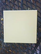 Lot: 12+ Vintage Ceramic Tiles, Mid-Century Pt&T Ramona 88 4x4, Pastel Yellow