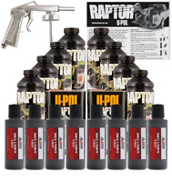 U-POL Raptor Tintable Dakota Brown Bed Liner Kit w/ Spray Gun, 8L Upol